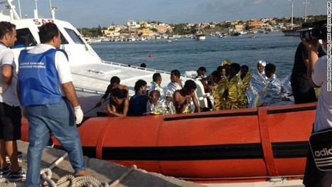 Italian coast guards rescue 700 migrants as EU leaders promise action | Global Affairs & Human Geography Digital Knowledge Source | Scoop.it