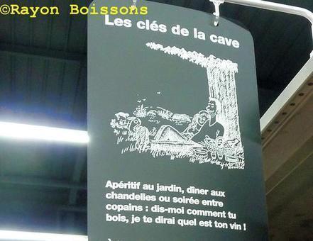 Quand #Wolinski dessinait le rayon #vins de #Leclerc. | Vos Clés de la Cave | Scoop.it