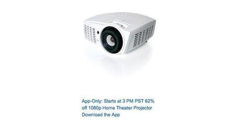Optoma HD37 Home Theater Projector is 62% Off Amazon App-Only Cyber Monday Deal at 3pm PT - I4U News | Black Friday | Scoop.it