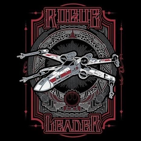 Rogue Leader [T-Shirt] | Geek On | Scoop.it