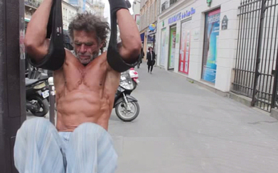 Meet the homeless bodybuilder who works out on the streets of Paris - Telegraph.co.uk   workouts   Scoop.it