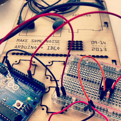 Making Noise With Arduino | Arduino Focus | Scoop.it