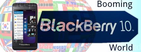 Blackberry 10 Application Development - Booming in the Corporate Worl   BLACKBERRY APP MART   Scoop.it