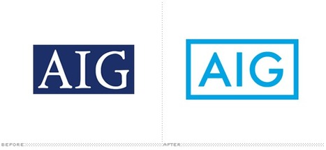 AIG (American International Group) redesigns logo: from Serif to Sans | timms brand design | Scoop.it