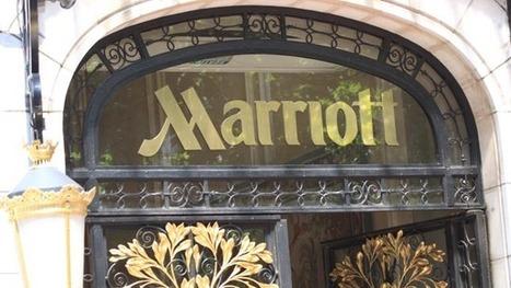 Un groupe chinois rachète l'hôtel Marriott des Champs-Elysées | Marketing Hôtelier | Scoop.it