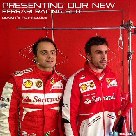 Ferrari Dummy´s | Racing is in my blood | Scoop.it