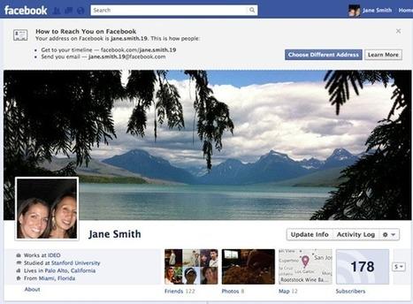 Addresses on Facebook | Tout sur Timeline Facebook | Scoop.it