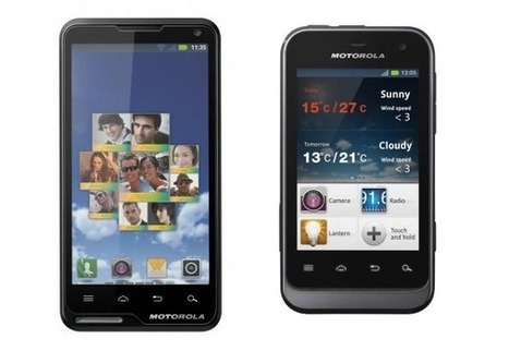 Motorola announces MotoLuxe and Defy Mini Android Smartphones | Technology and Gadgets | Scoop.it