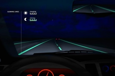 Glow-in-the-dark roads make debut in Netherlands | Awesome ReScoops | Scoop.it