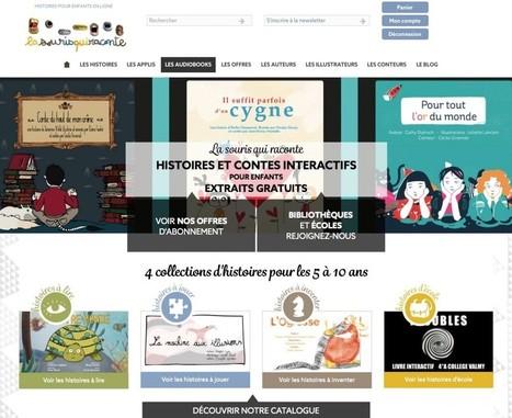 Un nouveau site pointe son nez (de souris) à la rentrée | Le blog de la Souris qui raconte | -thécaires | Espace jeunesse | Scoop.it