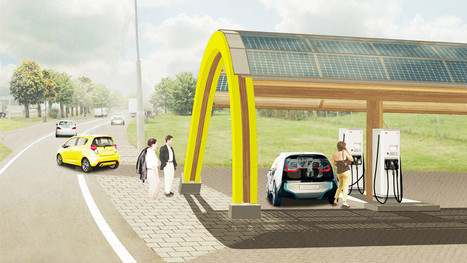 The Netherlands Is Building A Country-Wide EV Charging Network | green streets | Scoop.it
