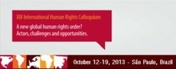 XIII International Human Rights Colloquium - International Campaign for Human Rights in Iran | Human rights | Scoop.it