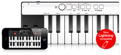 iRig KEYS Is The First Lightning-Compatible Music Keyboard ... | iPad apps for music | Scoop.it