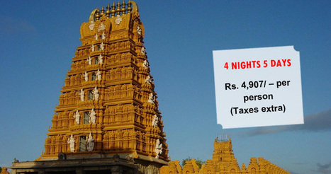 Mysore-Coorg Tour Package(Ex- Chennai) - Temple Yatri | Pilgrimage Packages | Scoop.it