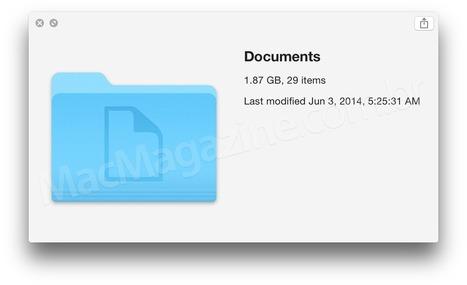 Confira as novidades que a Apple não comentou e um primeiro compilado de screenshots do iOS 8 e do OS X Yosemite | Apple Mac OS News | Scoop.it