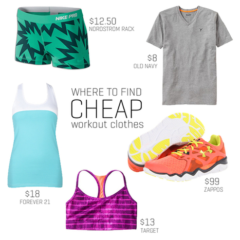 7 Places to Find Cheap Workout Clothes | Healthy Mind And Body Workouts Naturally | Scoop.it