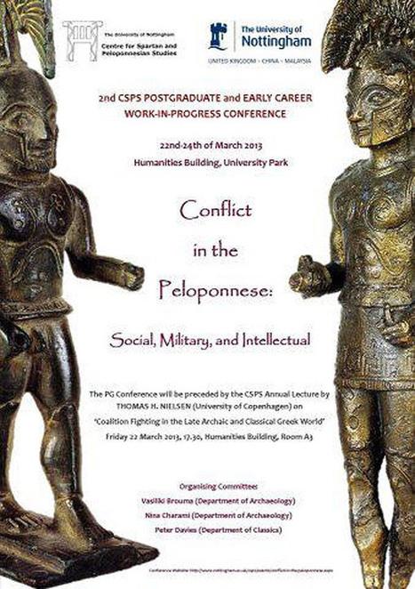 Συγκρούσεις στην Πελοπόννησο   Αρχαιολογία Online   ΑρχαιοΕκδηλώσεις   Scoop.it