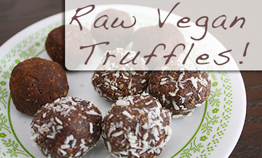 A Raw Vegan Truffle Recipe to Treat Yourself Right | My Vegan recipes | Scoop.it