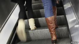 ¿Por qué se siente raro subir una escalera mecánica que no funciona? | Praxiología motríz | Scoop.it