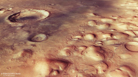 The buried glaciers of Colles Nili on Mars | Astronomy | Scoop.it