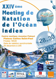 24ème Meeting de Natation de l'Océan Indien | SPORT EVENTS | Scoop.it