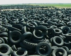 Europe's Tyre Waste