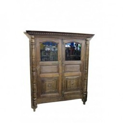 Carved Display Cabinet with Glass Doors | Carved Display Cabinet with Glass Doors | Scoop.it
