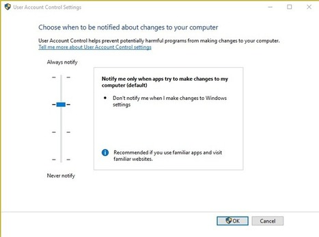 What is UAC (User Account Control) and How to change the UAC level in Windows. - techyuga.com | HELP MY COMPUTER NOW | Scoop.it