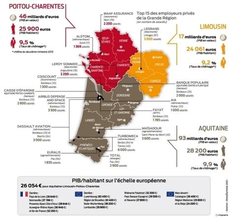 Nouvelle grande région : une économie sans autonomie | Sud-Ouest intelligence économique | Scoop.it