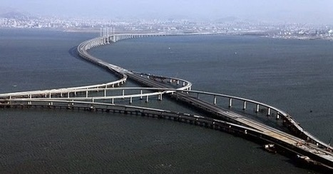 World's Longest Sea Bridge in China : The Qingdao Haiwan Bridge - Image Stock | imagebazarr.blogspot.com | Scoop.it