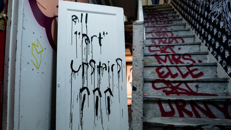 Tour a Secret Art Show Inside a Condemned NYC Apartment Building | Clic France | Scoop.it