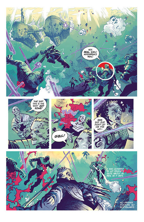 Image Comics | Delving deep into Atlantis with Steve Orlando and UNDERTOW | 215 Ink | Scoop.it
