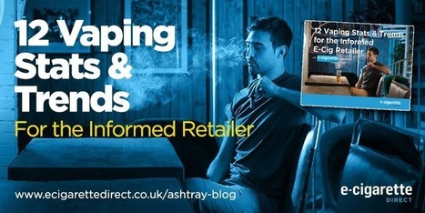 12 Vaping Stats and Trends For the Informed E-Cig Retailer | Electronic Cigarettes | Scoop.it