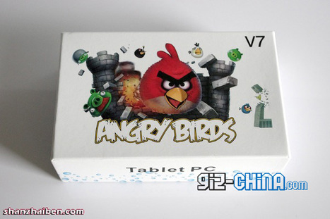 Angry Birds a sa tablette | Le Journal du Geek | Angry Birds | Scoop.it