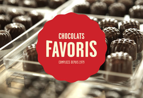 Nouvelle identité pour une montée en gamme : exemple de l'entreprise Chocolat Favoris | Identité de marque | Scoop.it