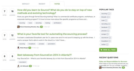 Open Source Sourcing -- Quora for Recruitment Takes Off | Recruiting innovation | Scoop.it