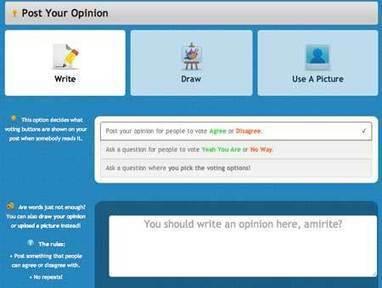 Comparte tus opiniones en la red con Amirite | Herramientas web 2.0 | Scoop.it