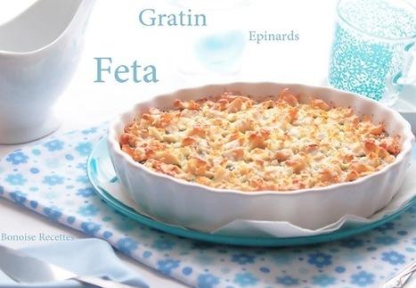 Recette de gratin d'épinards a la feta   cuisine algerienne et recettes de ramadan   Scoop.it