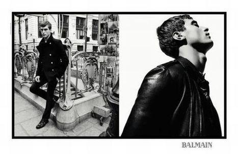 Le campagne Balmain per l'autunno inverno 2013 2014 - ◣ News Moda Uomo | Questione di Stile - Moda Uomo | Scoop.it