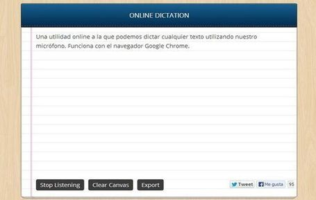 Dictation, usa tu voz para dictar emails y documentos en Chrome | Elearning | Scoop.it