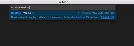 Apache Cordova development lands on Visual Studio Code | Visual Studio ALM | Scoop.it