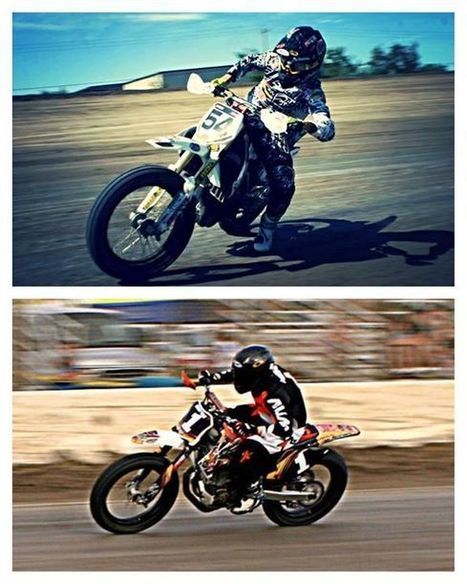 Mikey Rush and Tony Meiring are tied for first in points for the Pros. Who's you...   California Flat Track Association (CFTA)   Scoop.it