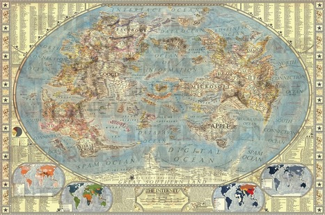 """""""Map of the Internet"""" 
