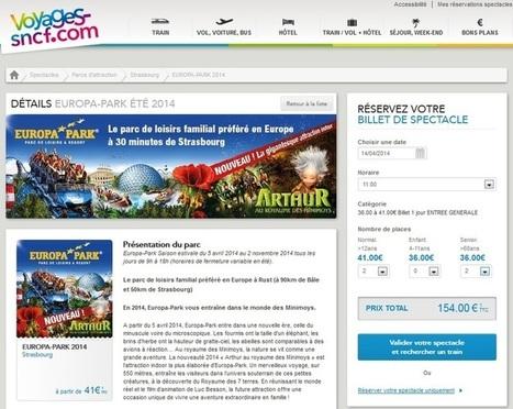 Voyages-Sncf.com mise sur les packages train+événement | Mobile et Web Marketing pour le ecommerce | Scoop.it