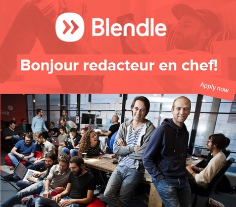 Blendle cherche un rédacteur en chef en France | DocPresseESJ | Scoop.it