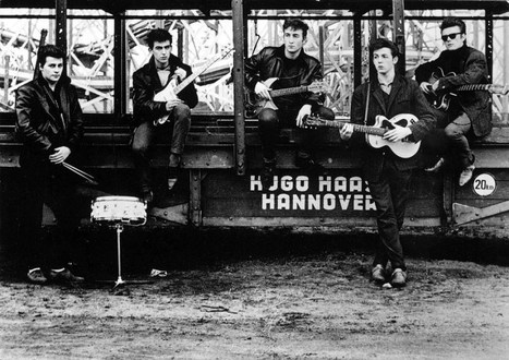 The Beatles before they were famous. Great vintage photos | Arte y Cultura en circulación | Scoop.it