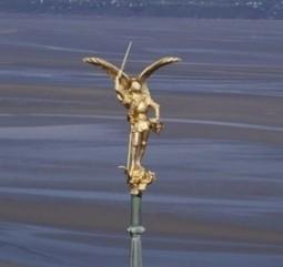 L'archange saint Michel retrouve l'abbaye du Mont-Saint-Michel | L'observateur du patrimoine | Scoop.it