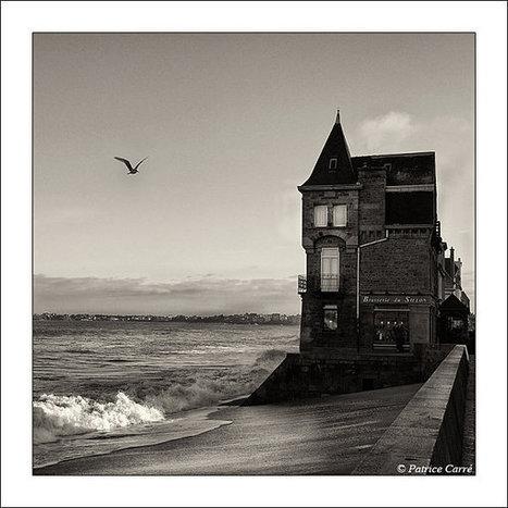Vagues lumières à Saint Malo - PatriceCarréPhoto | Voyages et Gastronomie depuis la Bretagne vers d'autres terroirs | Scoop.it