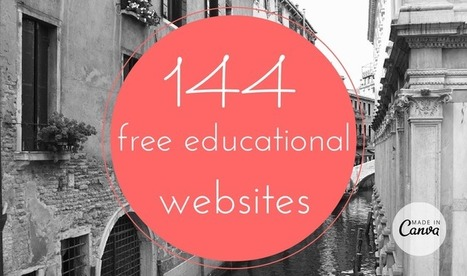 144 free educational websites | Educacion, ecologia y TIC | Scoop.it