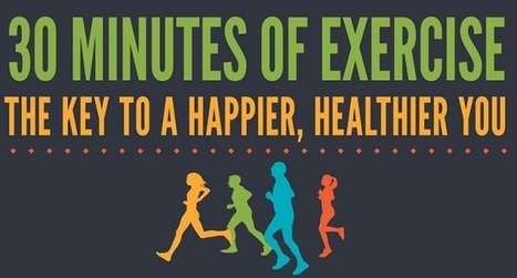 Visualistan: 30 Minutes Of Exercise The Key To A Happier Healthier You [Infographic] | Health | Scoop.it